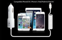 auto coil spring - 5V A Power USB Auto Car Charger with Coiled Spring USB Cable For iPhone s plus s