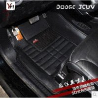 Wholesale High quality for Fiat Freemont seats seats car floor mats waterproof non slip rugs Freemont car mats