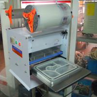 Wholesale FKJ HSemi automatic capping machine automatic cup sealer automatic cup sealing machine Fish sealer trays PP PE milk tea sealing machine