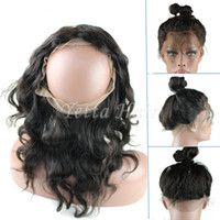 band wig - Factory Price New Style Lace Frontal Closure x4x2 inch Brazilian Virgin hair Body Wave Lace Band In Stock