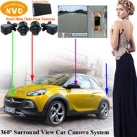 assistant system - Automotive waterproof shockproof car parking aid parking assistant cameras system degree bird s eye view camera system for OPEL Adam