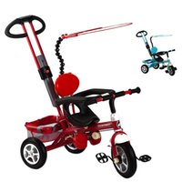 baby ride cars - Pneumatic Inflatable Child Tricycle Wheels Bicycle Baby Stroller Bike Ride On Cars Kids Prams and Pushchairs Strollers JN0070 kevinstyle