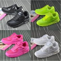 air shocks shoes - MAX90 Men s Women s Shoes Air Cushion Flight Line Sports Shoes Woven Running Shoes Increased Lightweight Shock Absorption
