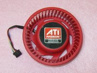 air stocking video - NTK FD9238H12S mm Graphics Video Card Cooler Fan mm V A Wire for ATI HD4870 HD4890 HD5850 HD6850 HD6970