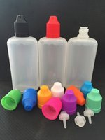 Cheap High quality LDPE eliquid bottles the screw cap childproof Colorful e juice bottles with 120ml 100ml 60ml 50ml 30ml 20ml 10ml 5ml 3ml