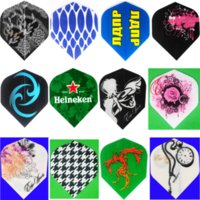 Wholesale of Dart Flights in Kinds of Nice and Rare Patterns Flight for Professional Darts Set Freeshipping