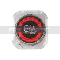 Wholesale 100 Original Coil Master K Clapton Wire FT GA GA Top Quality Wire for Vape RDA Coil Rebuilding Coil Master Clapton Wire