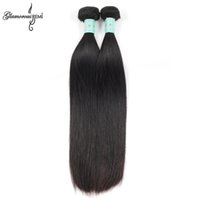 best natural hair - Glamorous Malaysian Virgin Hair Straight Bundles Malaysian Straight Human Hair Extensions B Best Malaysian Remy Human Hair