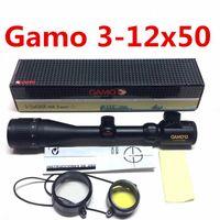 Wholesale Gamo x50 AO Red Green Illuminated Air Rifle Optics Hunting Scope Sight Rifle Hunting Scope Riflescopes Caza Carabina De