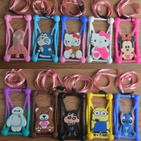 cartoon character - Universal Phone Case High Quality Cartoon Character Phone Case For inch All Cell Phone Cartoon Silicone Case Mixed Colors Phone Case