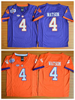 best college football jersey - NCAA Youth Clemson Tigers Football Jerseys College DeShaun Watson Kids Jersey Men Fashion Best Stitched Quality Team Color Purple Orange