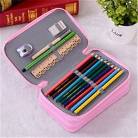 Wholesale Multi layer Pencil Case Pencil Holder Colored Pencils Case Large Capacity Super Large Capacity Students Pencil Case Pen Bag