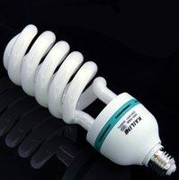 Wholesale Fresnel studio light photography bulb W bulb photography studio softbox dedicated trichromatic color temperature K lamp