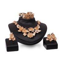 asian evening wear - New fashion friend friends get married evening party Europe of America s most popular selling wearing metal jewelry sets