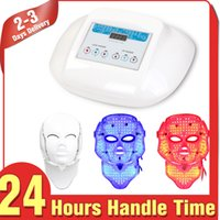 antiaging treatment - Photon Light Therapy LED Skin Rejuvenation Acne Wrinkle Antiaging Face Neck Mask