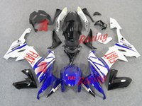 Wholesale 3 Free gifts New ABS fairings Kits Fitment For Kawasaki Ninja ZX R R Cool blue red FIAT