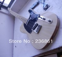 Wholesale l F Ameican standard telecaster Natural wood telecaster Electric Guitars