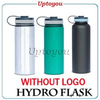 Wholesale Hydro Flask oz Vacuum Insulated grade foot Stainless Steel Water Bottle cold insulation warm outdoor travel mug vs oz oz