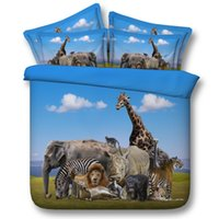 african print comforter - African Animal Print d HD bedding set