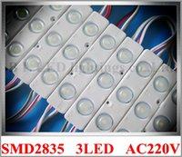 Wholesale AC V input injection with lens LED module light waterproof LED back light backlight W SMD led IP65 mm mm mm