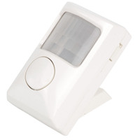 Wholesale Small Electronic Dog Alarm Mini Wireless IR Motion Sensor For Home Security E00200 CAD