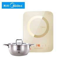 Wholesale The ultra thin mute double display screen with uniform fire pot for Induction Cookers