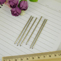 Wholesale Mini metal Ball Pen refill mm length Writing Lead size mm Custom size available Stationery office Accessories