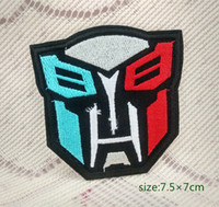 autobot patch - Superhero Transformers AUTOBOT Embroidered Iron On Sew On Patch Cap Bag Shirt Kids Toy Gift baby Decorate Individuality pc