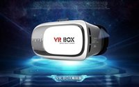 Wholesale 3d glasses vr box II VR Virtual Reality Glasses Smart Bluetooth Wireless Mouse Remote Control Gamepad phone Bluetooth game controller vr