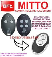 Wholesale Garage Door Remote Control Transmitter BFT MITTO2 MITTO4 MITTO2A MITTO4A MITTO B RCB MITTO B RCB KLEIO B RCA KLEIO B RCA TRC1