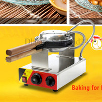 Wholesale electric Bubble Waffle Maker Egg Waffle Non stick Machine V V with Timer and Temperature Control