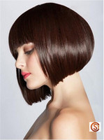 Wholesale Synthetic Wigs Bob Style Colore Hairs Short Women Attractive Hot Selling Can be Dyed Suitable to All Skin CC