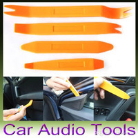 Wholesale Auto Removal Tool Car Disassembled Kit Refit Audio Portable Pry Installer Car DVR Player Trim Panel Dashboard