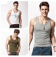 Wholesale Men s Tank Tops vest under vest male man h render vest vest movement