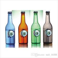 livraison gratuite whilesale bouteille d'eau créative poivron rouge énergie verte décoration à la maison regarder alarme capacité en eau horloge pour se lever
