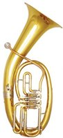 Wholesale Three Valves Baritone in Bb Brass Body With Foambody case EMS Musical Instruments