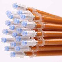 Wholesale 60 Cute Gold Ink Gel Pen Refill MM Office School Supplies Pen Refills Papelaria