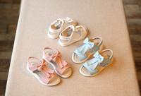 Wholesale Chaussures Enfant Fille Summer New Girls Shoes Sandals fish head Princess shoes Fashion flat shoes Children sandals