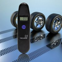 Wholesale New Digital LCD Auto Motocycle Tyre Pressure Gauge Car Maintenance hot