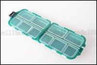 Wholesale W Green small Fishing Accessories Boxes Fishing Tool Box LLWA084