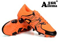 Wholesale fashionable men and women children training football shoes non skid lawn football shoes welcome choose buy