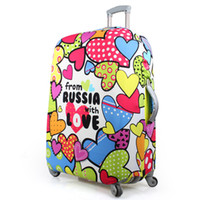 Wholesale Factory Travel Luggage Protect Cover Suitcase Cover for inch Case