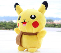 Wholesale Hot Poke plush toy Pikachu Plush Keychain Pendant Phone Strap soft Stuffed Dolls cm