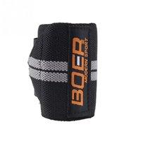 Wholesale Fashion High Quality Professional Weight Lifting Fitness Bandage Wrist Elastic Fiber Colors