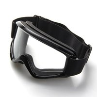 enduro - Black Motocross Motorcycle Enduro Off Road Hemlet Windproof Glasses Goggles