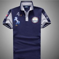 air force polo shirts - New Air force one Top Quality embroidery men s Aeronautica militare Men Shirts Brand POLO diamond Fashion shark clothing