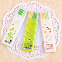 aihao pen - Cute Kawaii mm Lead Aihao Gel Ink Pen Refill Blue Black Ink cm Office School Writing Stationery