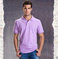 Wholesale new men s T shirt British wind Polo shirt Men s casual fashion T shirt lovers lapels
