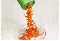 Grater Shred Process Cortadora en espiral Cortadora de frutas vegetales Cortadora Herramienta de cocina Twister Cutter vegetales Accesorios de cocina con caja al por menor