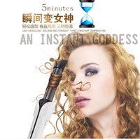 Wholesale Automatic curling artifact electric hair curling bar straight volume dual thermostat curlers